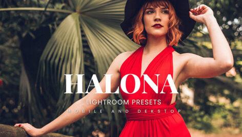 20 پریست لایت روم پرتره حرفه ای Halona Lightroom Presets