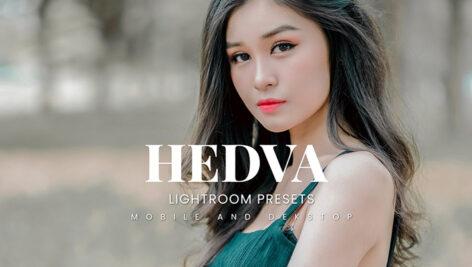 20 پریست لایت روم پرتره حرفه ای Hedva Lightroom Presets