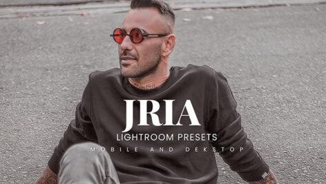 20 پریست لایت روم پرتره حرفه ای Jria Lightroom Presets