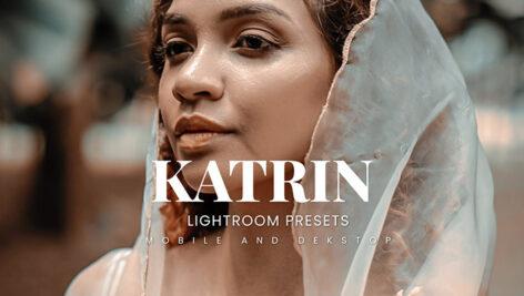 20 پریست لایت روم پرتره حرفه ای Katrin Lightroom Presets