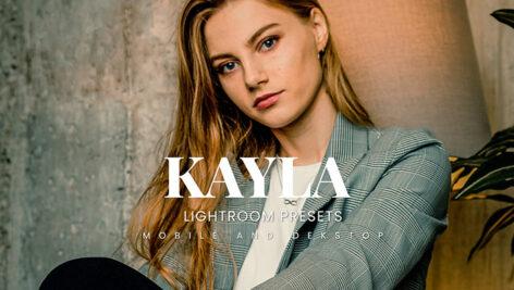 20 پریست لایت روم پرتره حرفه ای Kayla Lightroom Presets