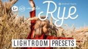24 پریست لایت روم و پریست کمرا راو فتوشاپ تم گندمزار Rye Lightroom & ACR Presets