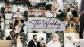 40 پریست لایت روم عروسی آپدیت 1400 جدید The Wedding Lightroom Presets