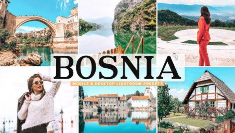 40 پریست لایت روم و پریست کمرا راو و اکشن فتوشاپ بوسنی Bosnia Lightroom Presets