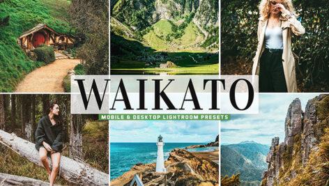 40 پریست لایت روم و پریست کمرا راو و اکشن فتوشاپ Waikato Lightroom Presets
