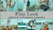 50 پریست لایت روم و کمرا راو و لات رنگی تم سینمایی Film Look Lightroom Presets Ps LUTs