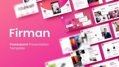 قالب پاورپوینت و گوگل اسلایدر تم تجارت Firman Business PowerPoint Template