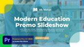 پروژه پریمیر اسلایدشو 2021 با موزیک مراکز آموزش Modern Education Slideshow