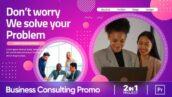 پروژه پریمیر حرفه ای رزولوشن 4K معرفی شرکت Corporate Business Consulting Promo