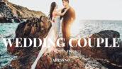 20 پریست لایت روم حرفه ای عروسی Wedding Couple Lightroom Presets
