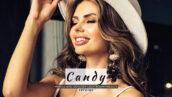 20 پریست لایت روم رنگی حرفه ای پرتره Candy Lightroom Presets