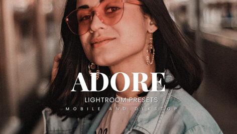20 پریست لایت روم رنگی حرفه ای Adore Lightroom Presets
