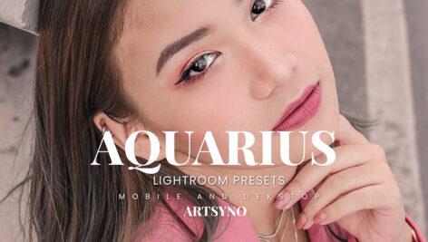 20 پریست لایت روم رنگی حرفه ای Aquarius Lightroom Presets
