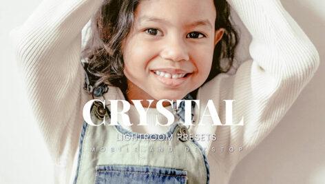20 پریست لایت روم رنگی حرفه ای Crystal Lightroom Presets