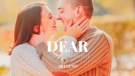20 پریست لایت روم رنگی حرفه ای Dear Lightroom Presets