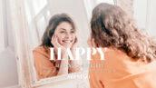 20 پریست لایت روم رنگی حرفه ای Happy Lightroom Presets