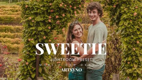 20 پریست لایت روم رنگی حرفه ای Sweetie Lightroom Presets