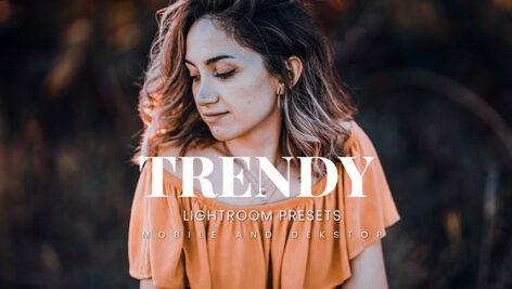 20 پریست لایت روم رنگی حرفه ای Trendy Lightroom Presets