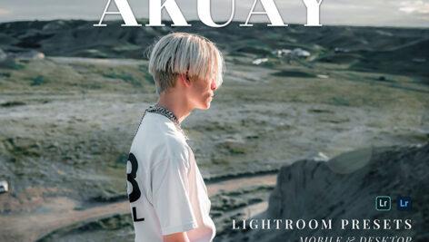 20 پریست لایت روم پرتره حرفه ای Akuay Lightroom Presets