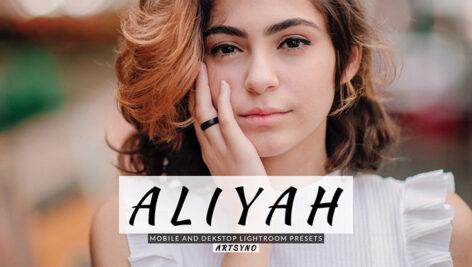 20 پریست لایت روم پرتره حرفه ای Aliyah Lightroom Presets