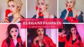 30 پریست لایت روم حرفه ای عکس فشن Elegant Fashion Lightroom Presets