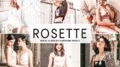 40 پریست لایت روم پرتره و پریست کمرا راو و اکشن فتوشاپ Rosette Pro Lightroom Presets