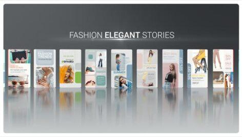 پروژه پریمیر پکیج حرفه ای استوری اینستاگرام Fashion Elegant Stories for Premiere Pro