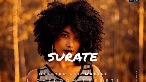20 پریست لایت روم اسپرت دخترانه حرفه ای Surate Lightroom Preset