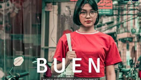 20 پریست لایت روم عکاسی خیابانی حرفه ای Buen Lightroom Presets