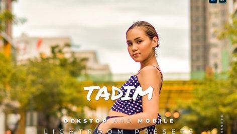 20 پریست لایت روم پرتره حرفه ای تم رنگ گرم Tadim Lightroom Preset