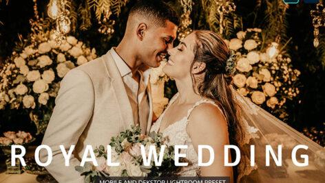 20 پریست لایت روم پرتره حرفه ای تم عکس عروسی Royal Wedding Lightroom Presets