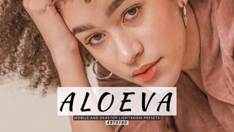 20 پریست لایت روم پرتره حرفه ای Aloeva Lightroom Presets