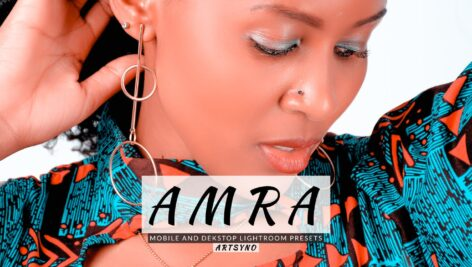 20 پریست لایت روم پرتره حرفه ای Amra Lightroom Presets