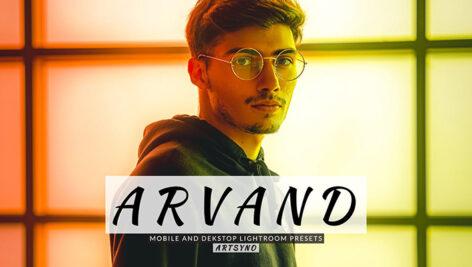 20 پریست لایت روم پرتره حرفه ای Arvand Lightroom Presets