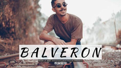20 پریست لایت روم پرتره حرفه ای Balveron Lightroom Presets