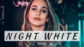 20 پریست لایت روم پرتره حرفه ای Night White Lightroom Presets