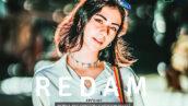20 پریست لایت روم پرتره سینماتیک حرفه ای Redam Lightroom Presets