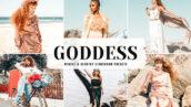 40 پریست لایت روم پرتره و پریست کمرا راو و اکشن فتوشاپ Goddess Lightroom Presets